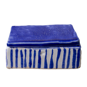 ceramic lid box for jewelry