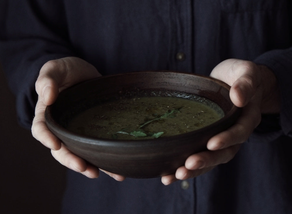 handcrafted bowl for soup gift idea