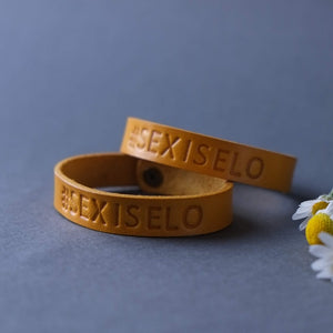 Load image into Gallery viewer, leather customized wristband