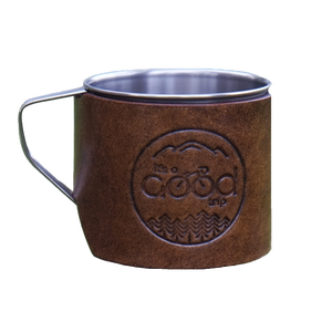 Customizable Leather Travel Mug