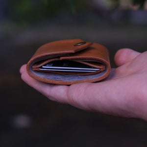 Load image into Gallery viewer, handmade trifold wallet