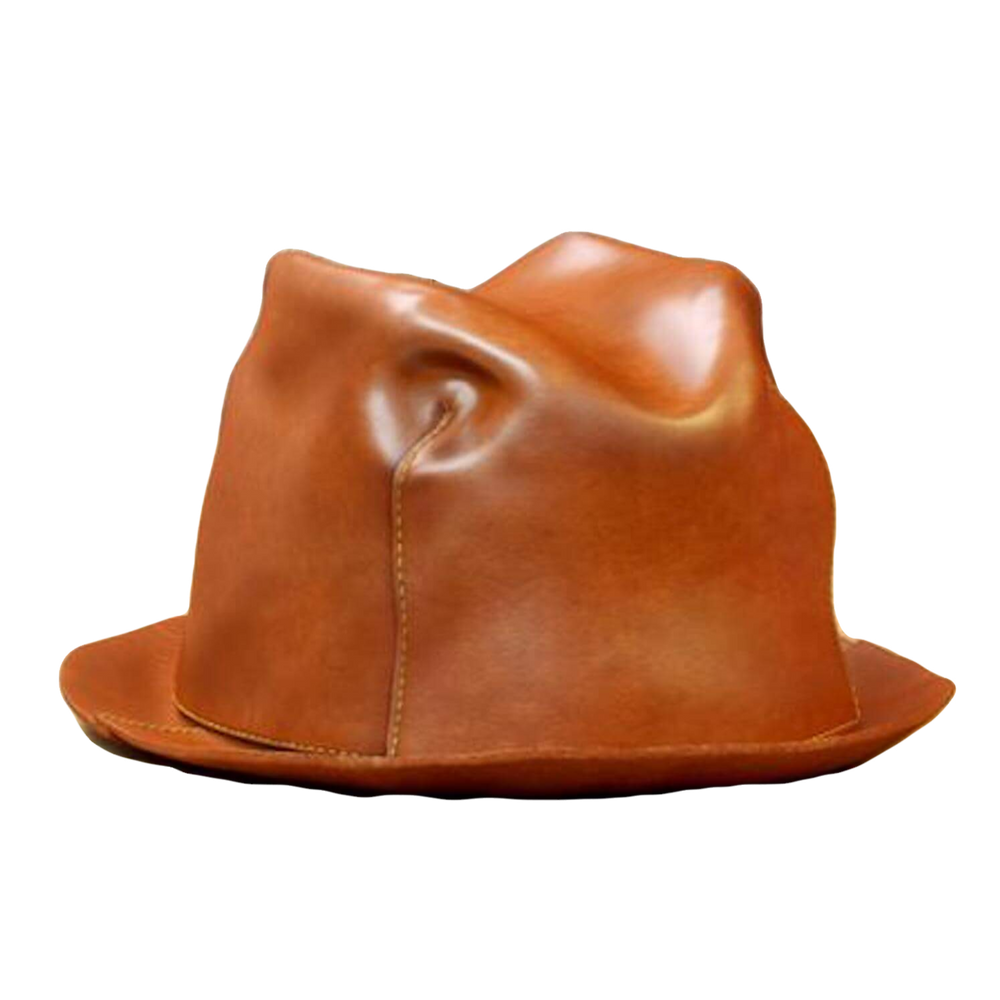 Load image into Gallery viewer, handmade leather hat