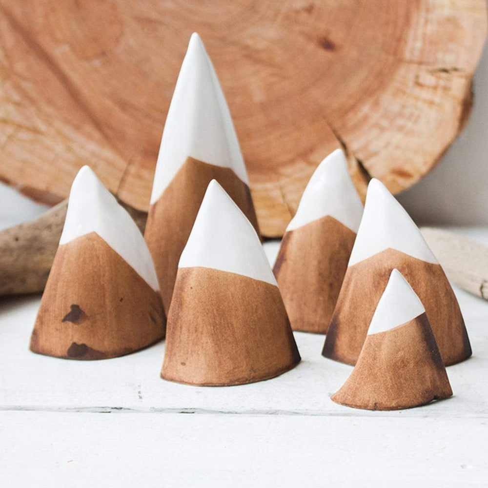 ceramic mountain set