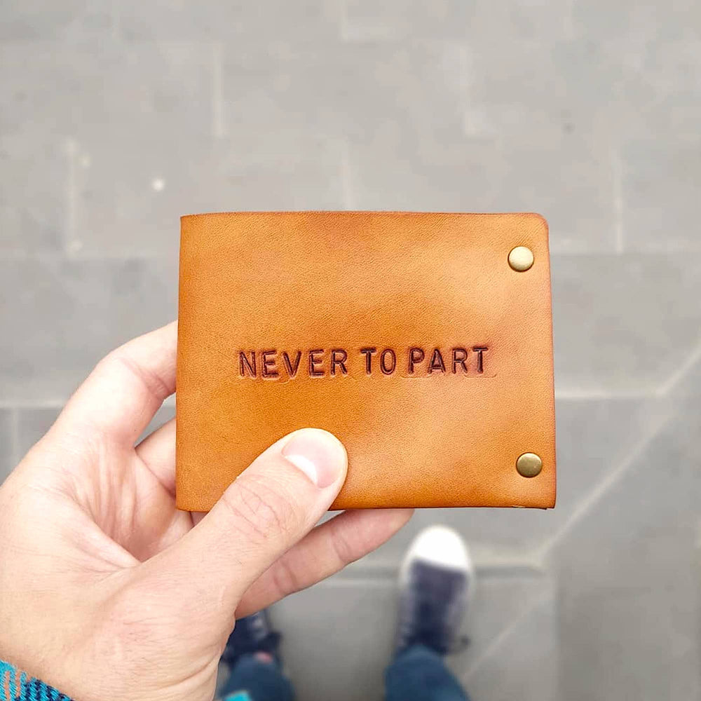 never to part wallet