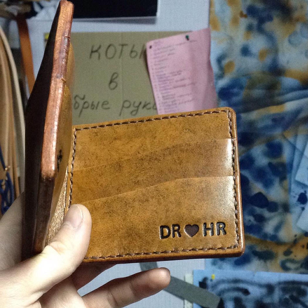 wallet leather free shipping