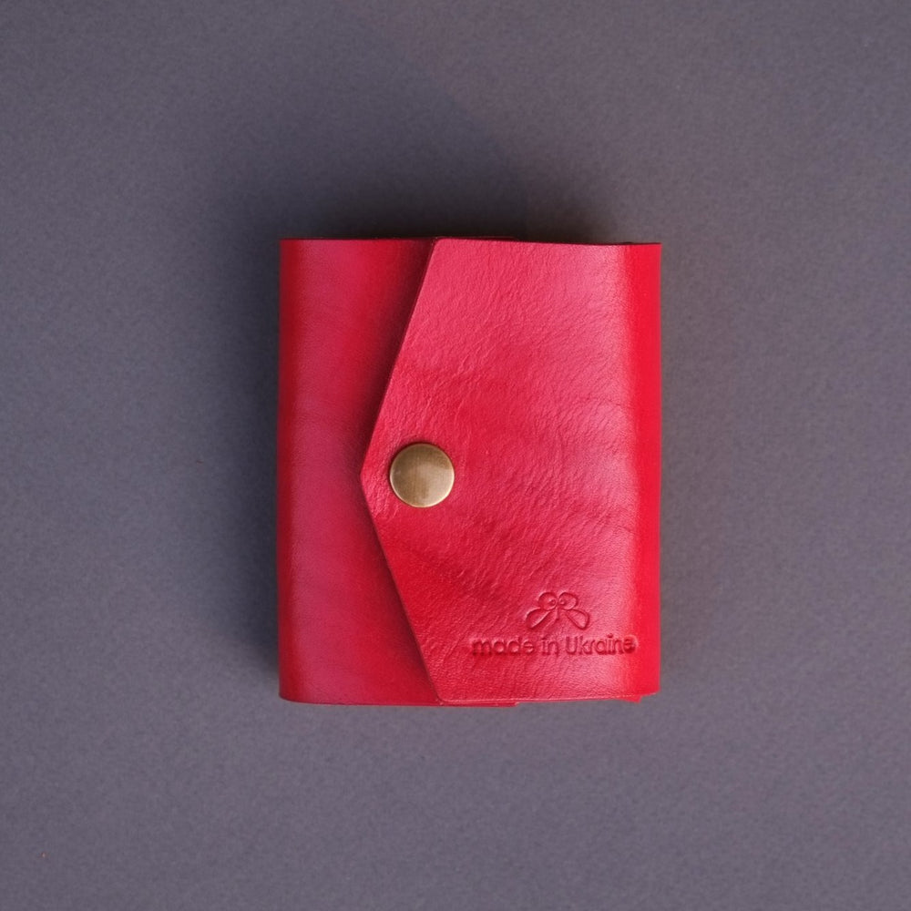 red wallet for her birthday