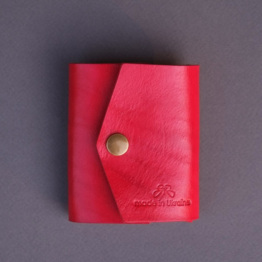 red small wallet