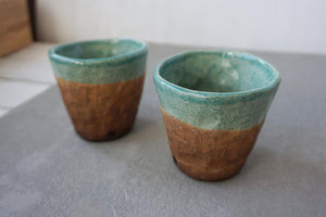Load image into Gallery viewer, CERAMIC COFFEE MUG / TURQUOISE