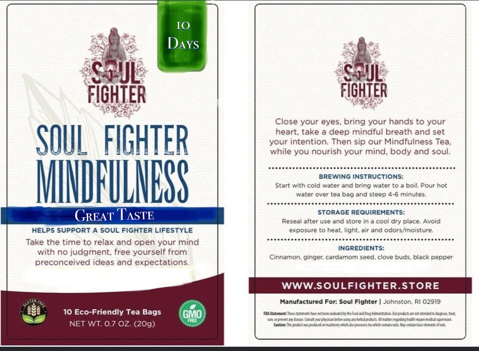 Soul Fighter Mindfulness Tea