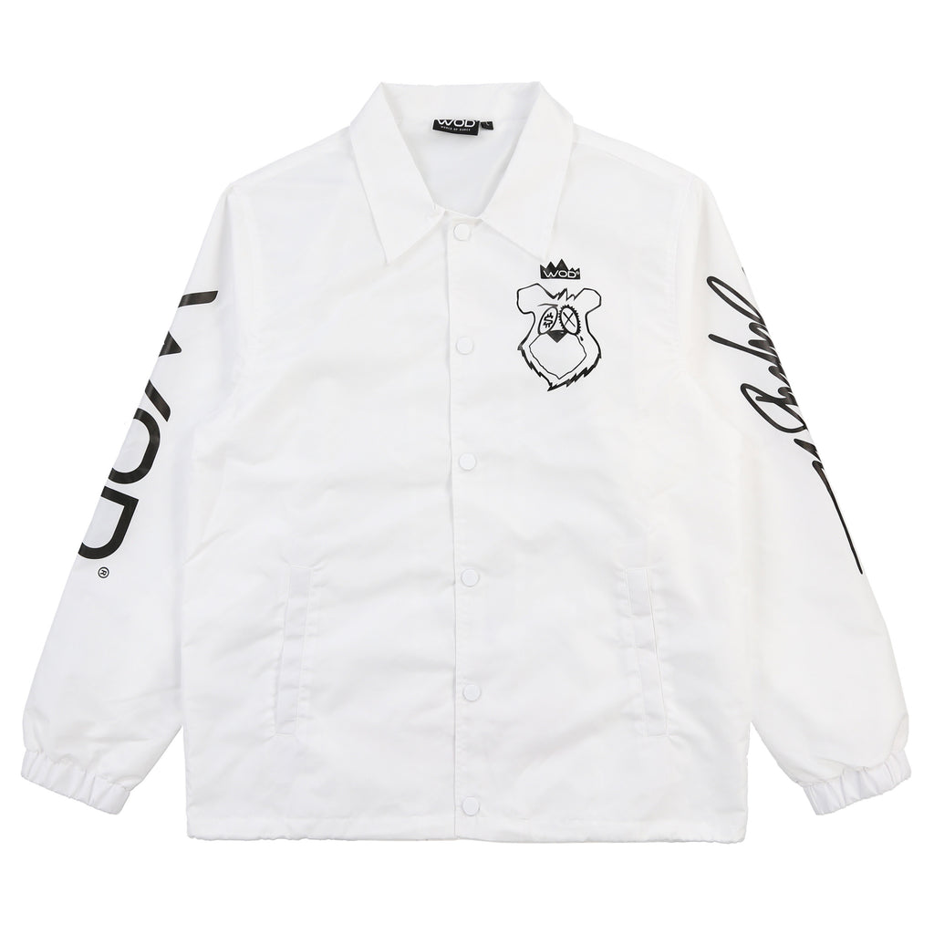 KINGSALADEENCOACHJACKET(WHITE)