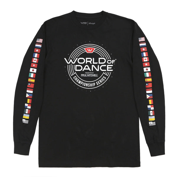 Championship Series Flag LS Tee (Black)