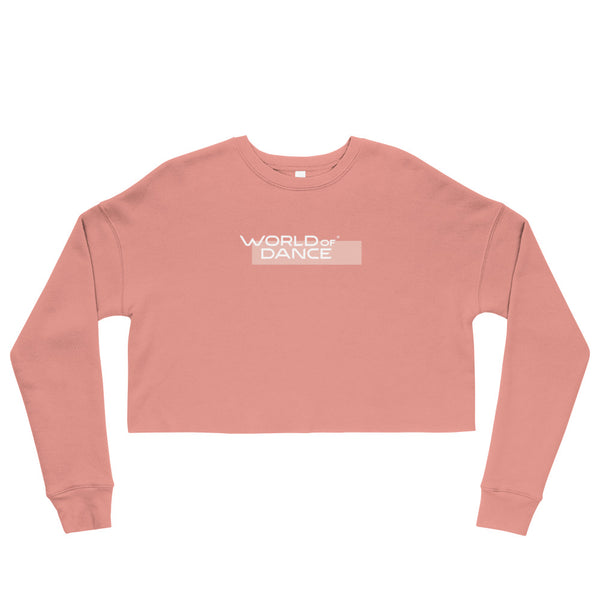 World of Dance Crop Sweatshirt