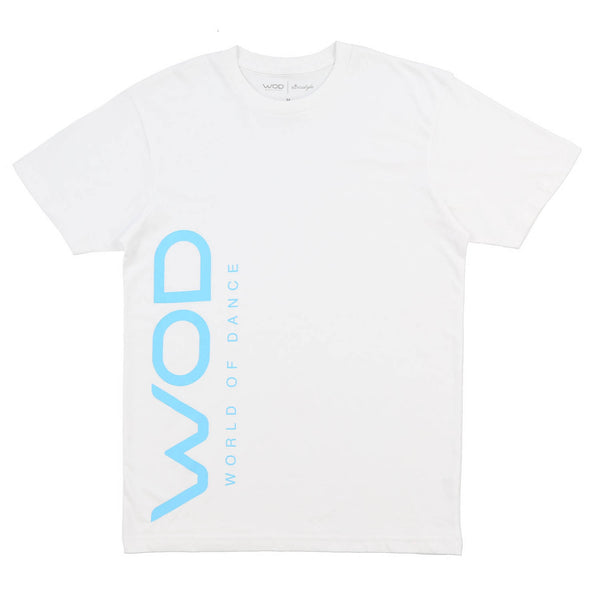 WOD Side Hit SS Tee (White)
