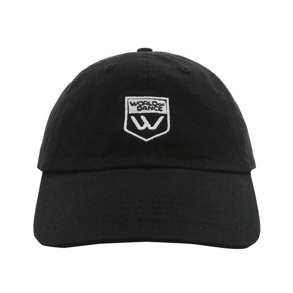 Badge Dad Hat (Black)