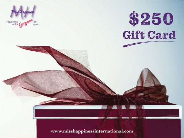 Miss Happiness Gift Cards