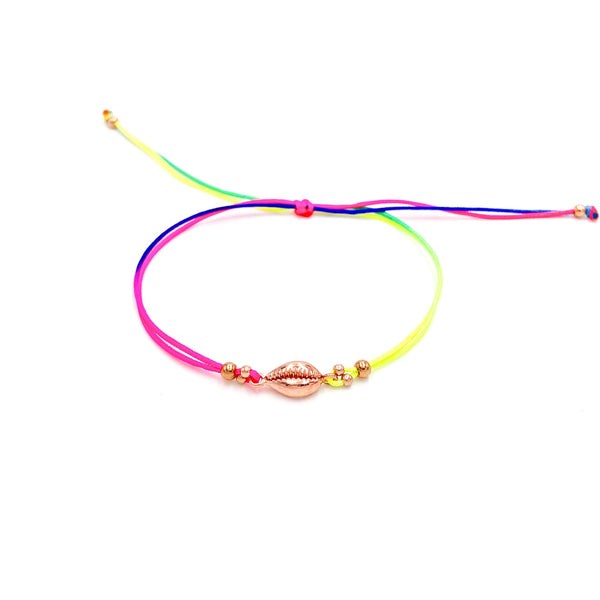Colorful Seashell Anklet