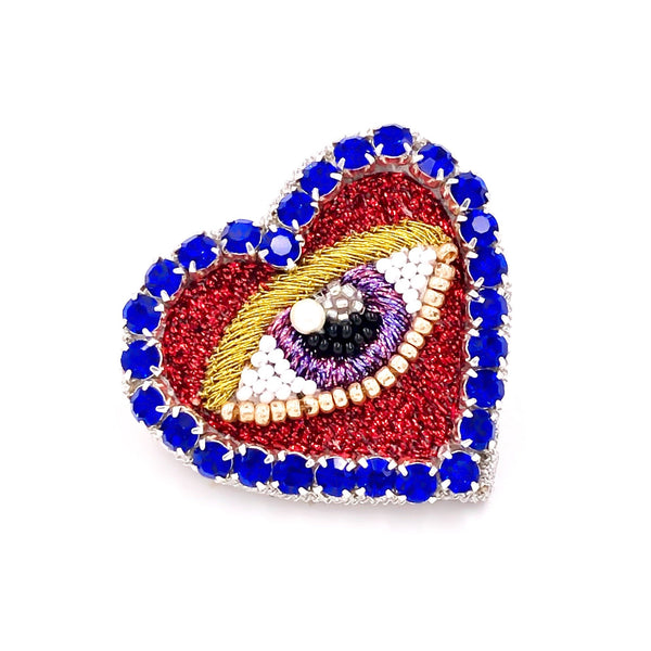 Heart Eye Earring