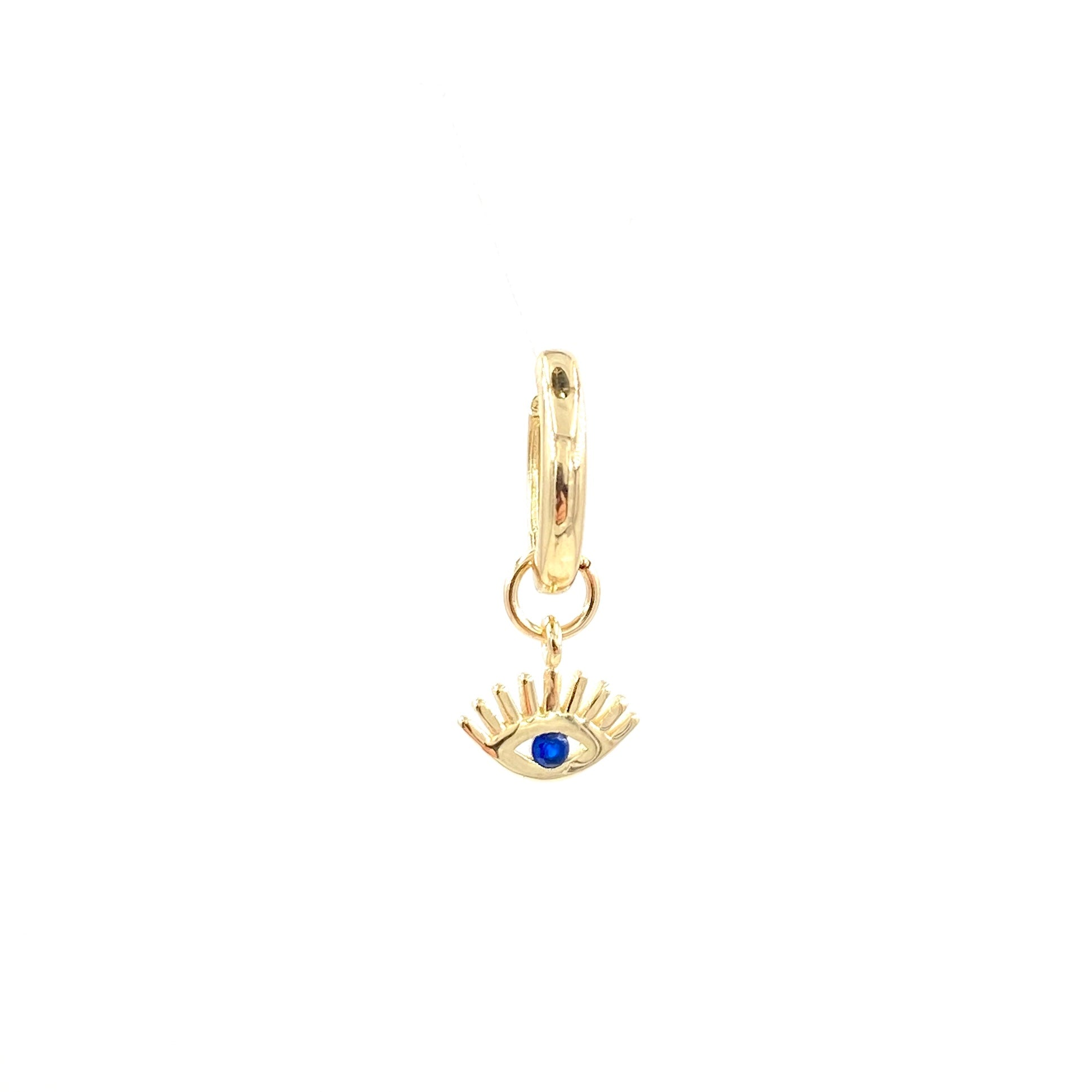 Eye Drop Huggie Earring