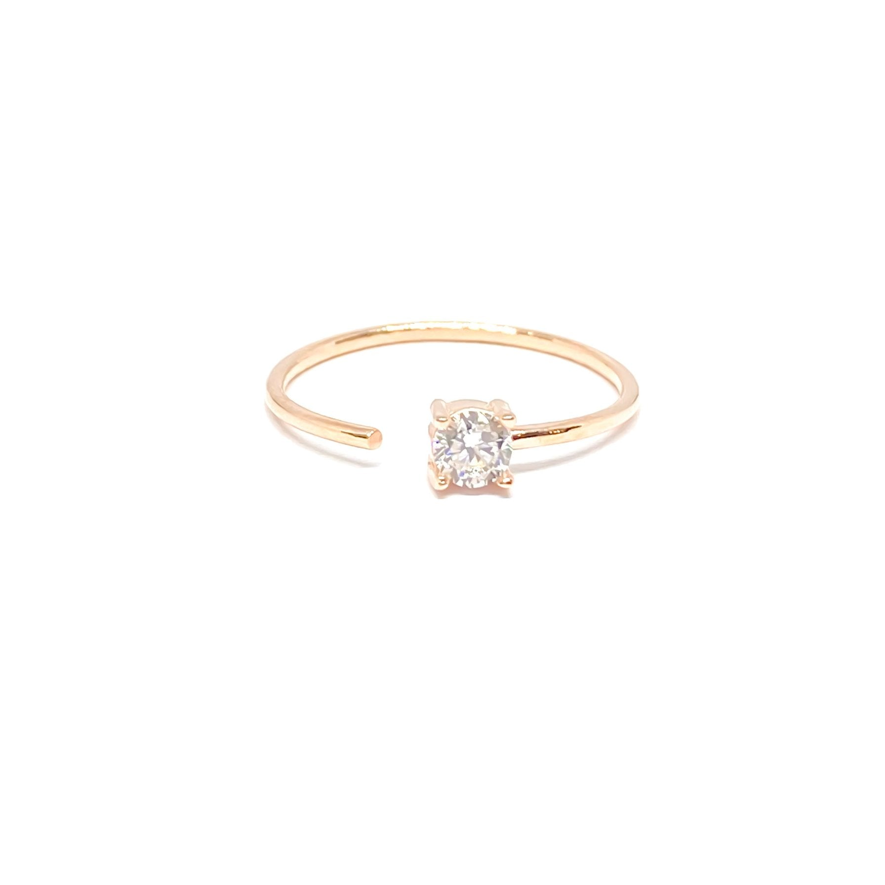 Solitaire Open S Ring