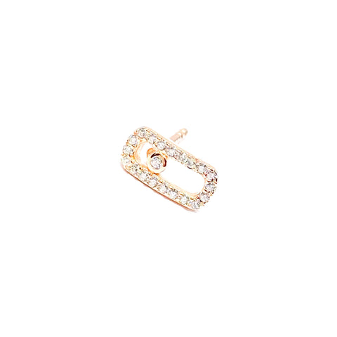 Super Mini Oval Earring