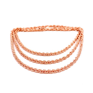 Three Strand Chain Anklet