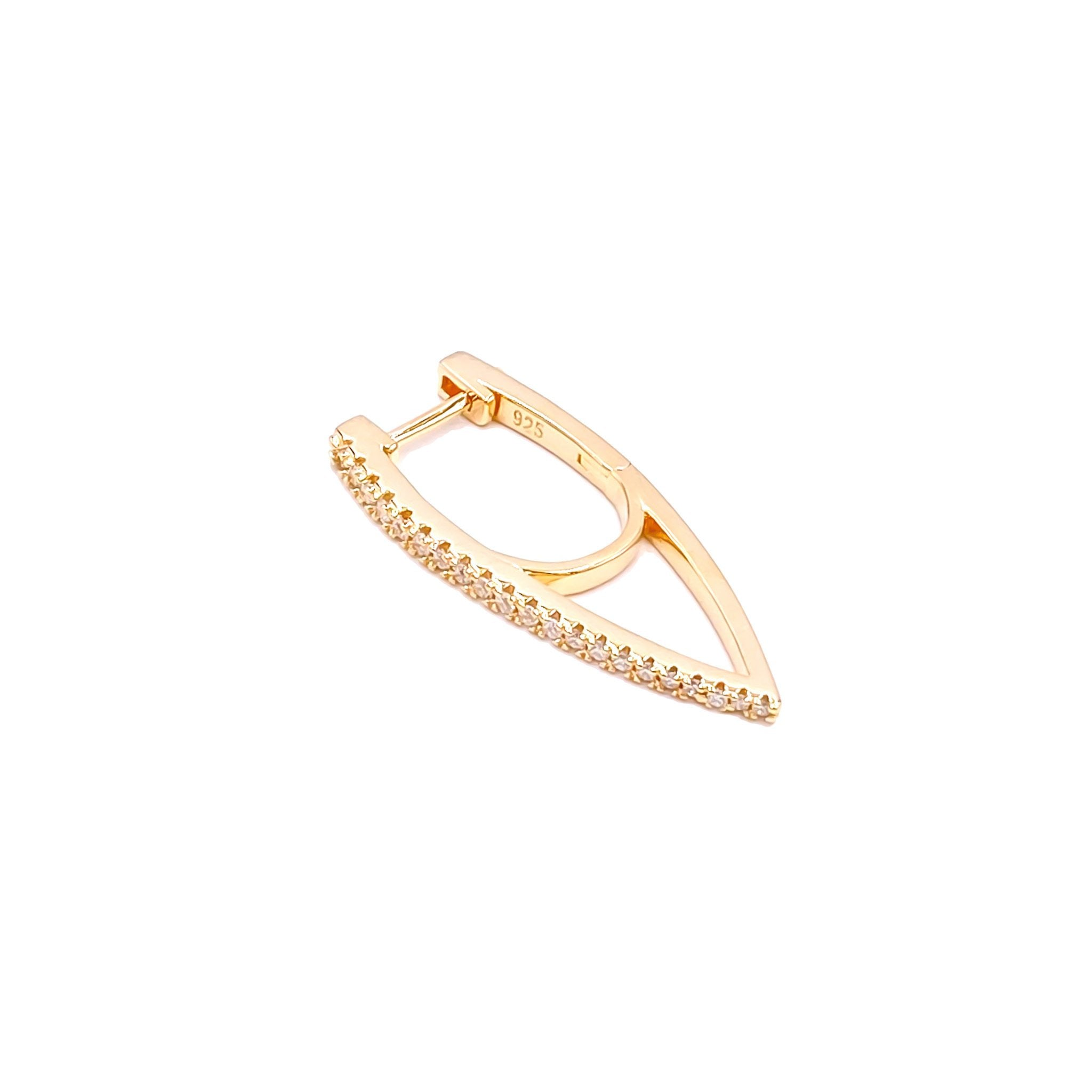 Sail Gold Earring