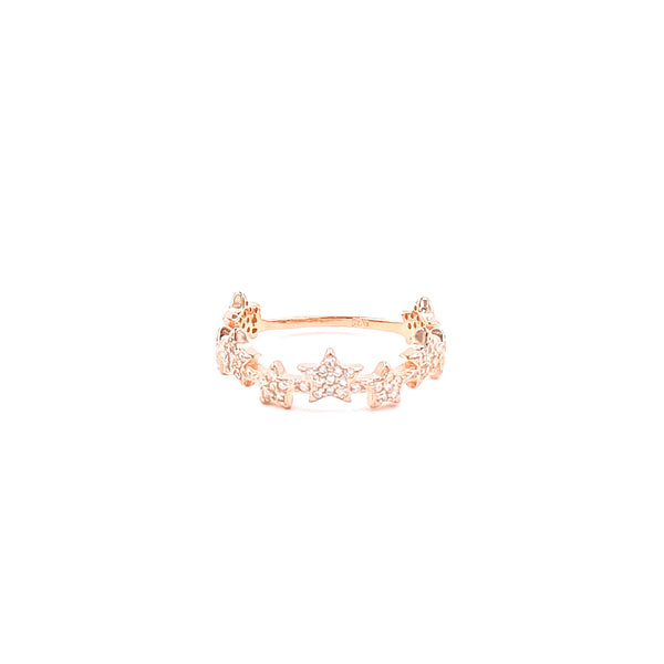 Multi Star Dainty Ring