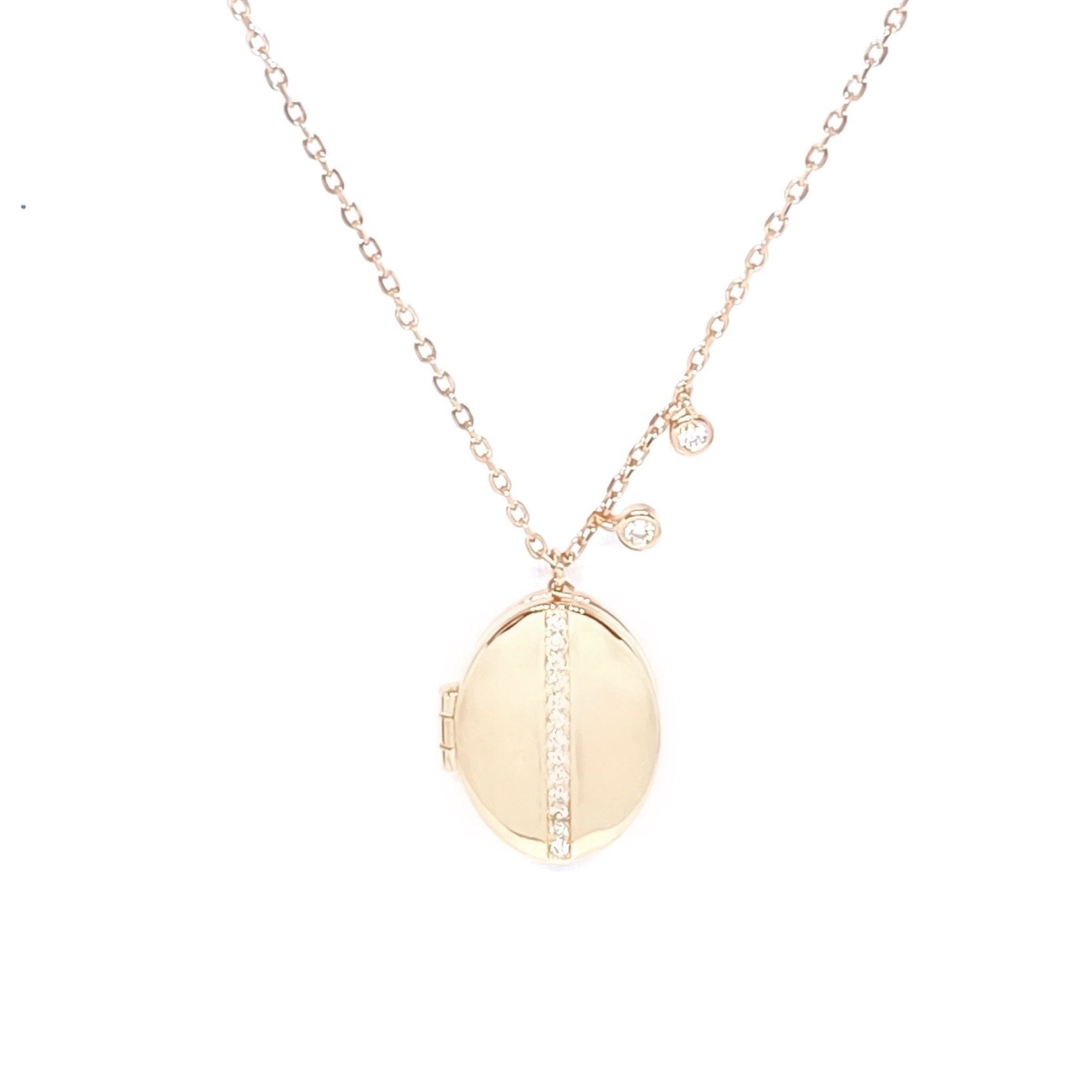 Linea Medallion Necklace