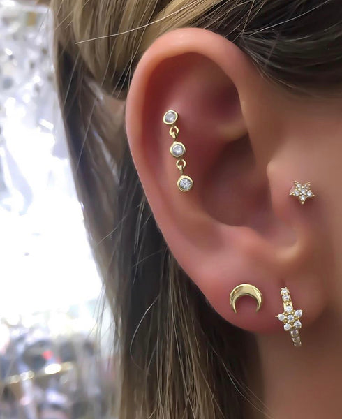 Mini Moon Piercing