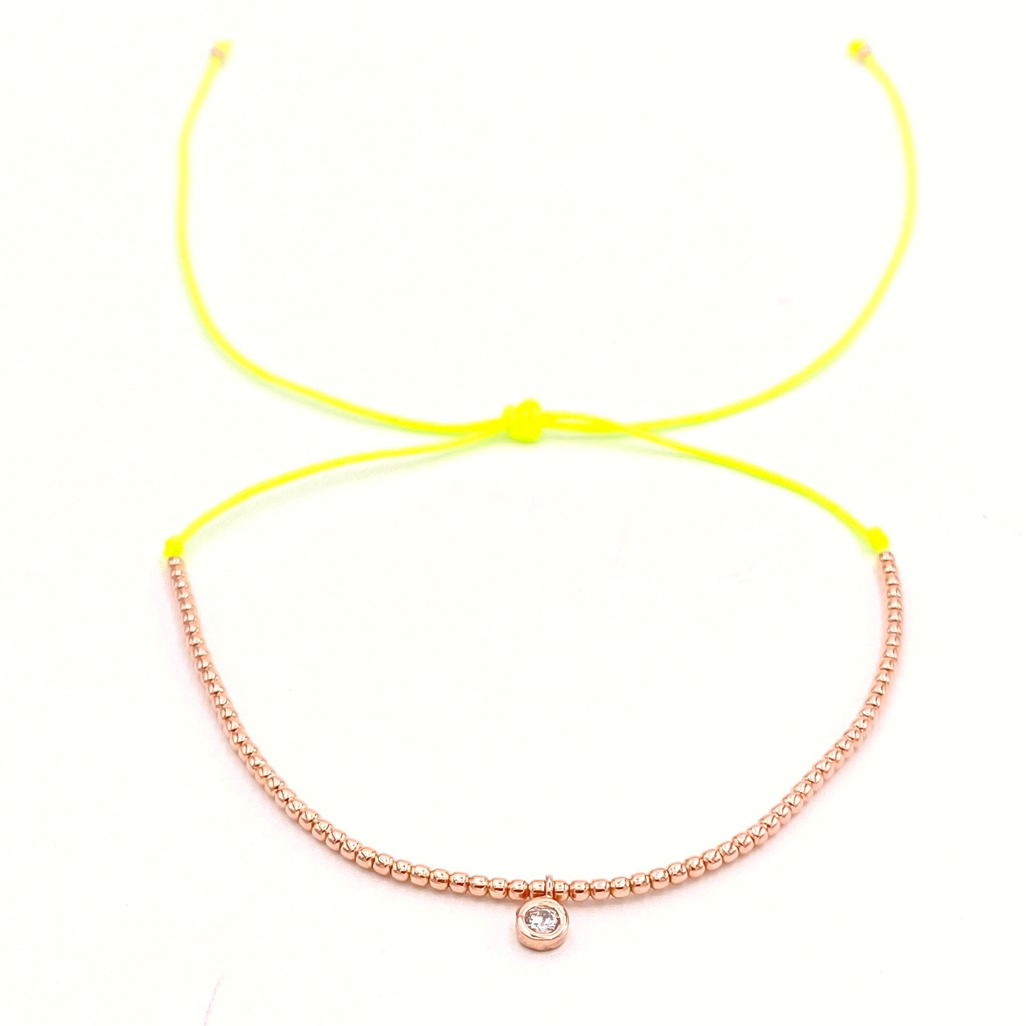 Mini Balls Chain Rope Anklet