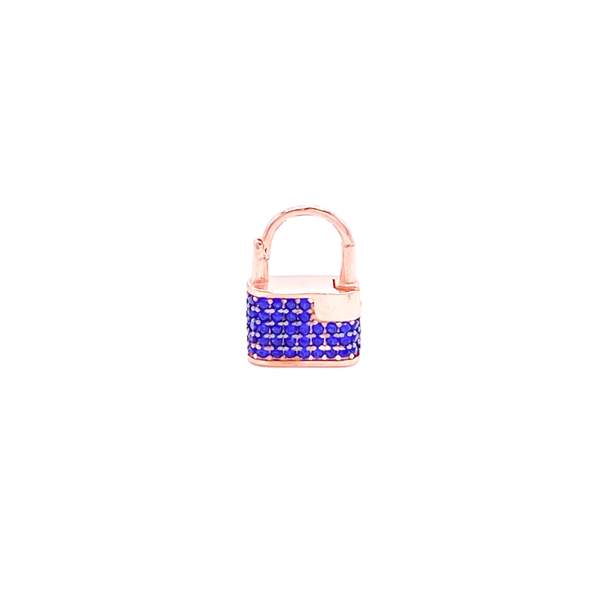 Blue Lock Earring