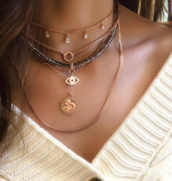 Snake Pendant Y Necklace