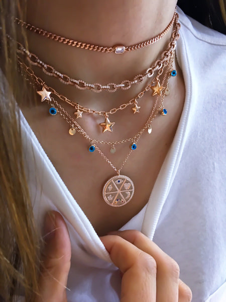 Charm Medallion Necklace