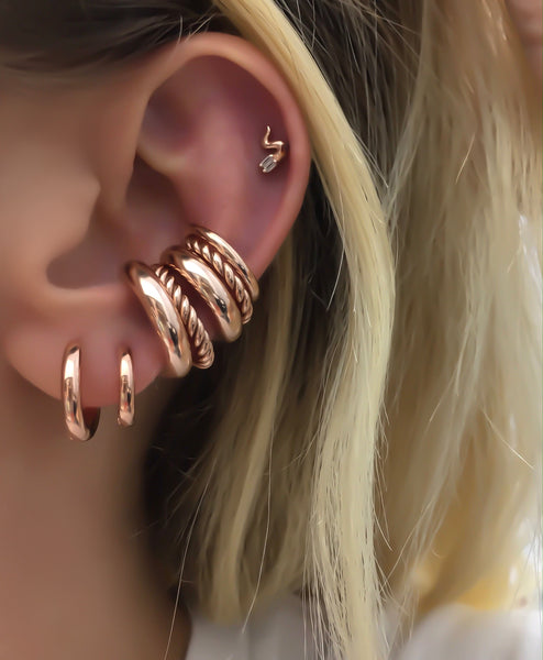Large Thick Ear Cuff