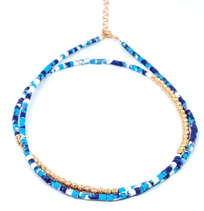Turquoise Double Strand Anklet