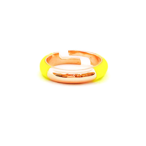 Neon Enameled Camber Ring