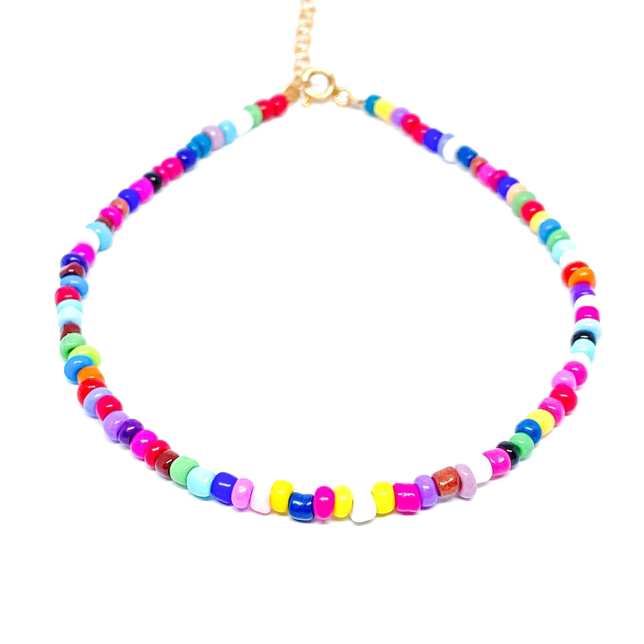 Mix Beaded Anklet