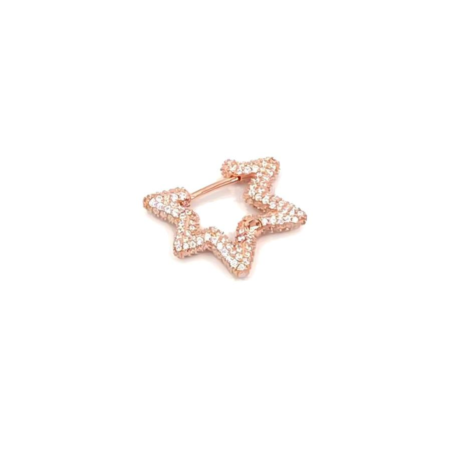 Star Gemstone Earring