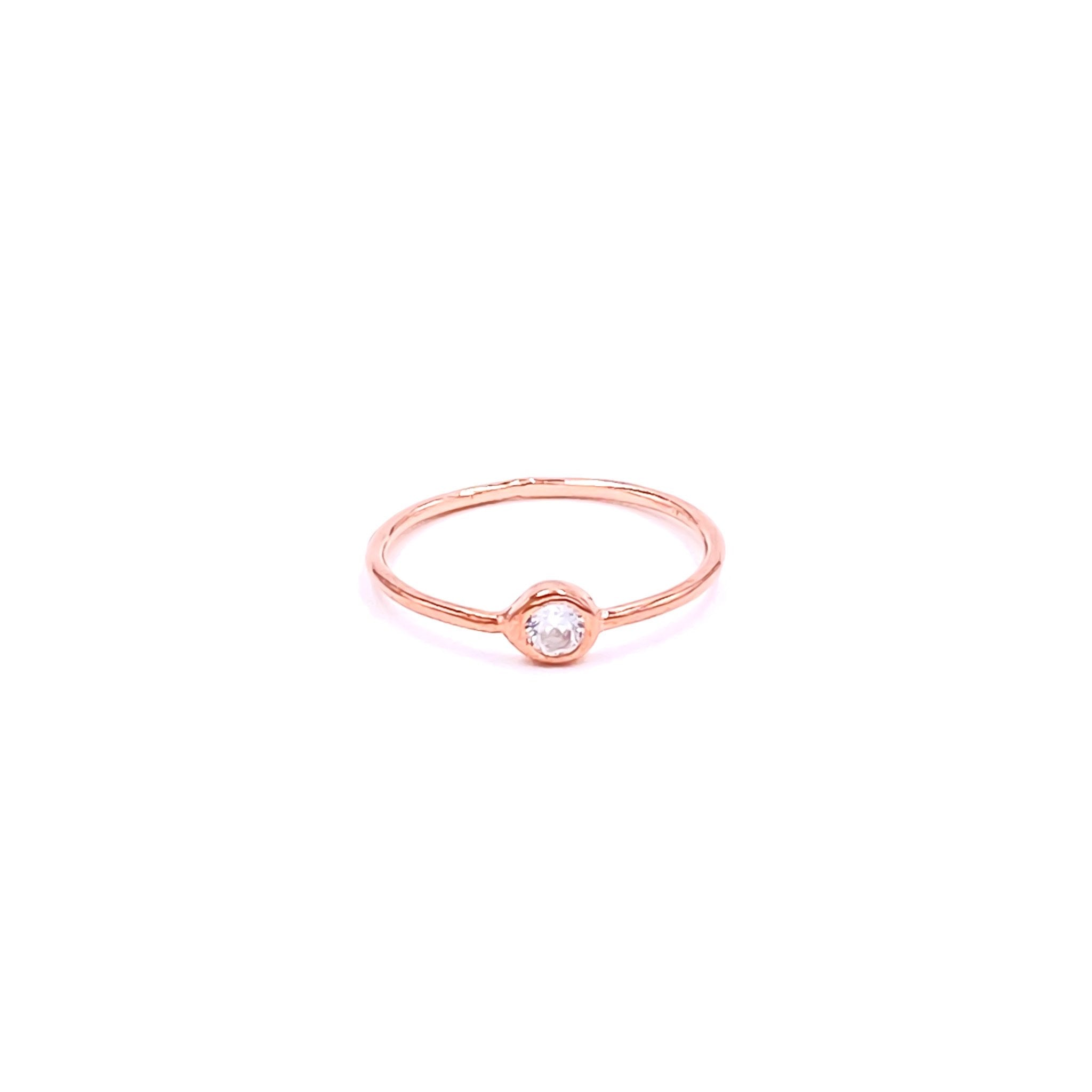 Mini Solitaire Ring