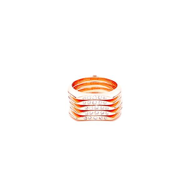 Five Line Statement Ring