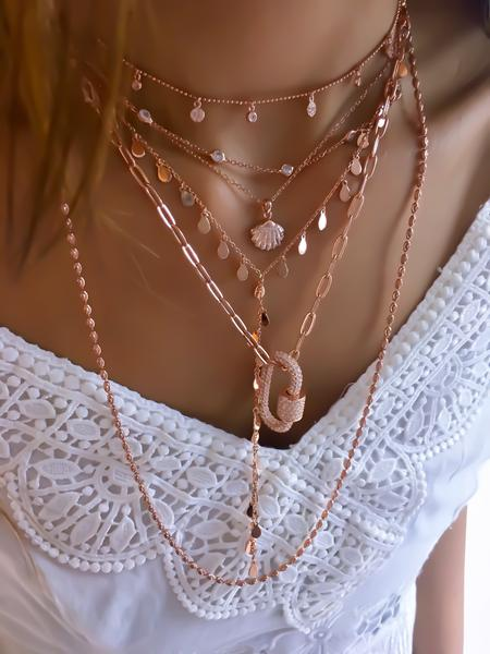 Gemstone Chain Choker