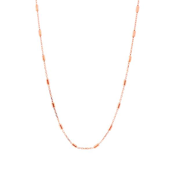 Sticks Chain Necklace - 65 cm