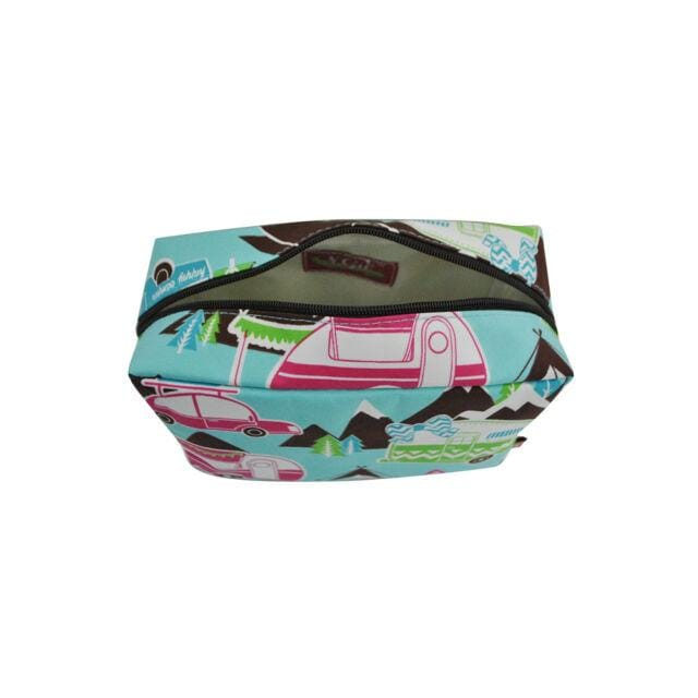 Happy Camper Large Makeup Bag
