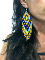 The Aztec Gypsy Beaded Earrings