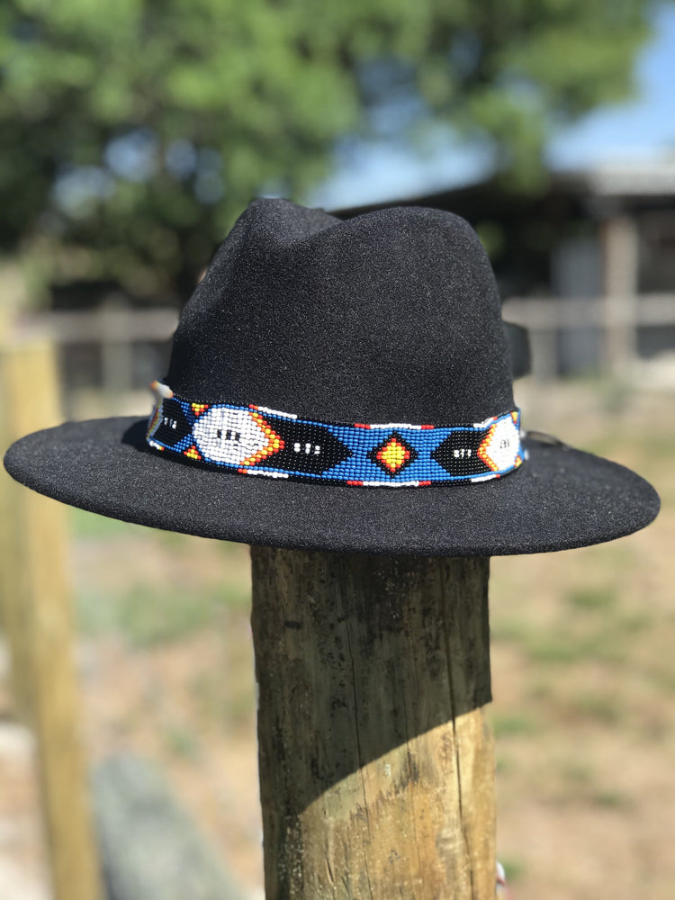 The Sunset Ride Beaded Hat Band
