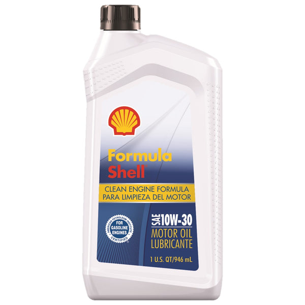 Motor Oil Shell Conventional 10W-30 excellent engine protection 1QT