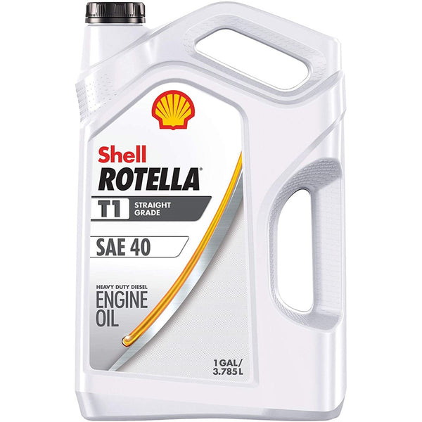 Motor Oil Shell Rotella T1 SAE-40 Heavy Duty Diesel Engine Tractor 1G