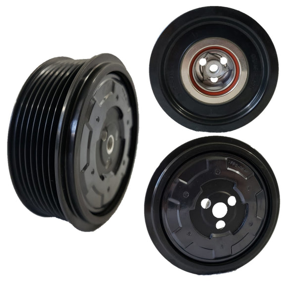 A/C Compressor Clutch Pulley for157376 7SEU17C Sprinter 2500 3500 Dodge Mercedes-Benz Freightliner