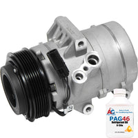 A/C Compressor New for 2010-2006 Ford Fusion 2007-2006 Mercury Milan 67669