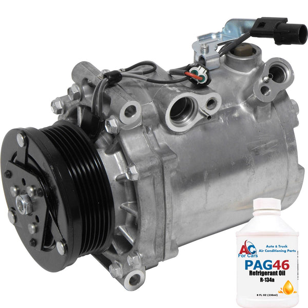 A/C Compressor New Mitsubishi Lancer (10-08) Outlander (08-07) MSC90CAS 98487